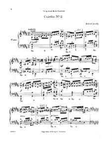 Csárdás No.2 in G Sharp Minor: Para Piano by Rafael Joseffy