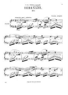 Serenade No.2 in F Minor: para um único musico (Editado por H. Bulow) by Rafael Joseffy