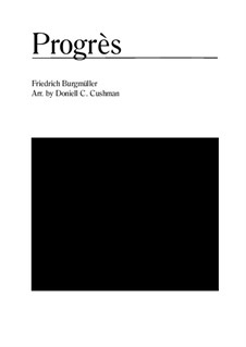 No.6 Progrès (Progress): For clarinet and oboe by Johann Friedrich Burgmüller