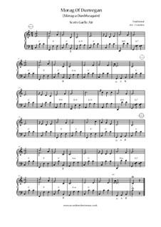 Morag of Dunvegan: para acordeão by folklore