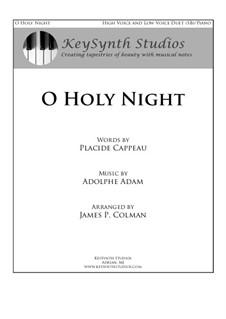 Piano-vocal score: para duas vozes e piano by Adolphe Adam