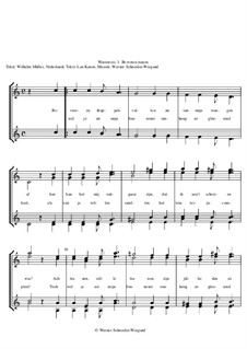 Winterreise, Nr.26-97, Op.23: Nr.74 Bevroren tranen by Werner Schneider-Wiegand