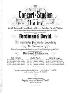 Violin Concerto No.6 in B Flat Major, Op.8: para violino by Pierre Rode