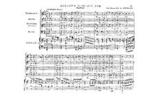Mass No.11 in C Major (Missa brevis No.7) 'Piccolomini', K.258: Para vozes e órgão by Wolfgang Amadeus Mozart