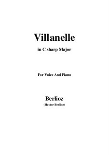 Les nuits d'été (Summer Nights),  H.81 Op.7: No.1 Villanelle (C sharp Major) by Hector Berlioz