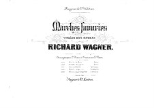 Rienzi, the Last of the Tribunes, WWV 49: Marche de paix, for two pianos eight hands – piano I part by Richard Wagner