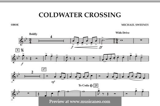 Coldwater Crossing: parte Oboe by Michael Sweeney