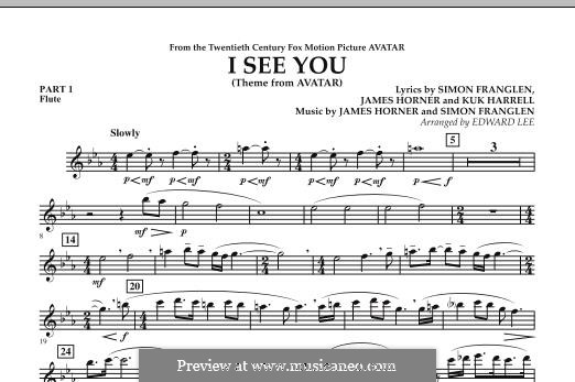 I See You (Theme from Avatar): Pt.1 - Flute part by James Horner, Simon Franglen