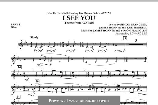 I See You (Theme from Avatar): Pt.1 - Oboe part by James Horner, Simon Franglen