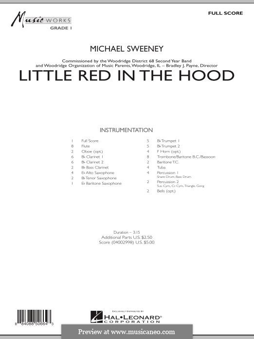 Little Red in the Hood: partitura completa by Michael Sweeney