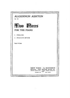 Staccato Étude, Op.145 No.2: Para Piano by Algernon Ashton