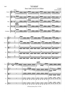 Violin Concerto No.1 in E Major 'La primavera', RV 269: Score and parts by Antonio Vivaldi