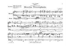 Five Pieces, Op.9: No.1 Triumphal March by Giuseppe Ferrata