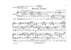 Five Pieces, Op.9: No.4 Reverie triste by Giuseppe Ferrata