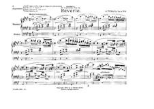 Five Pieces, Op.9: No.3 Reverie by Giuseppe Ferrata