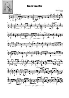 Impromptu: Improviso by Alfred Cottin