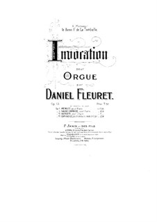 Invocation, Op.13: Invocação by Daniel Fleuret
