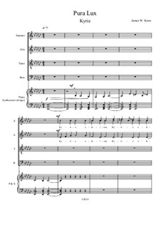 Pura Lux Mass: Kyrie by James Knox