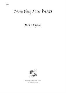 New series of beginner piano pieces: 4. Counting Four Beats - Advanced Intermediate Piano by Mike Lyons