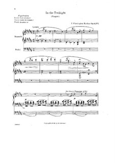 Two Organ Pieces, Op.43: Two Organ Pieces by F. Flaxington Harker