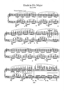 No.8 in D Flat Major: Para Piano by Frédéric Chopin