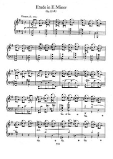 No.5 in E Minor: Para Piano by Frédéric Chopin
