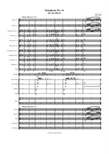 Symphony No.34 (for the films): Symphony No.34 (for the films) by Jordan Grigg