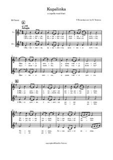 Kupalinka: partituras de vocais by folklore
