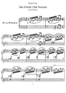 Die Forelle (The Trout), D.550 Op.32: segunda versão by Franz Schubert