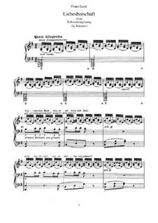 No.1 Liebesbotschaft (Message of Love): Para Piano, S.560 No.10 by Franz Schubert