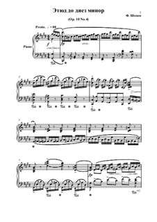 No.4 in C Sharp Minor: Para Piano by Frédéric Chopin