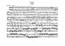 Fantasia for Mechanical Organ in F Minor, K.594: versão para piano de quatro mãos by Wolfgang Amadeus Mozart
