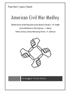 American Civil War Medley: American Civil War Medley by Patrick Sarsfield Gilmore, James A. Bland, William Steffe