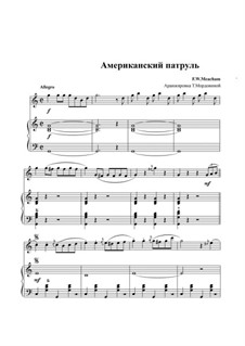 American Patrol, Op.92: For duo accordions by Frank W. Meacham