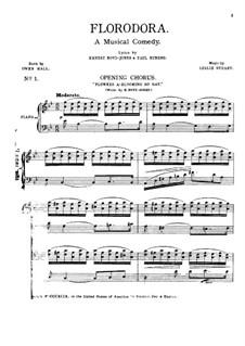 Florodora: para solistas,coral e piano by Leslie Stuart