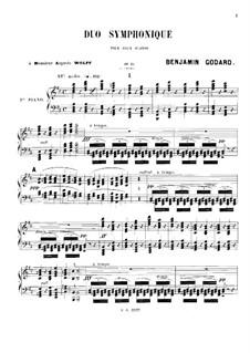 Symphonic Duet for Two Pianos Four Hands, Op.34: Primeira parte by Benjamin Godard