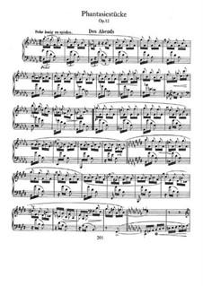 Fantastic Pieces, Op.12: set completo by Robert Schumann
