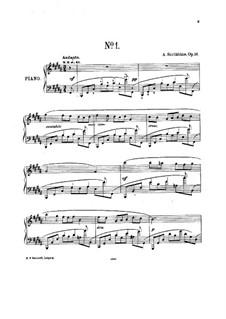 Five Preludes, Op.16: set completo by Alexander Scriabin