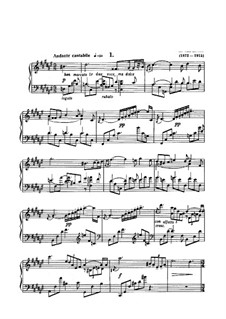 Two Poems, Op.32: Para Piano by Alexander Scriabin