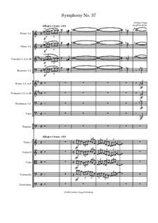 Symphony No.37: Symphony No.37 by Jordan Grigg