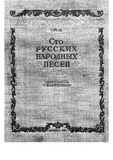Сто песен: Сто песен by Nikolai Rimsky-Korsakov