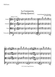 La Cumparsita: para quartetos de cordas by Gerardo Hernan Matos Rodriguez