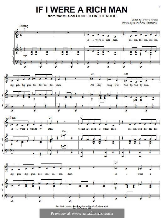 Para vocais e piano