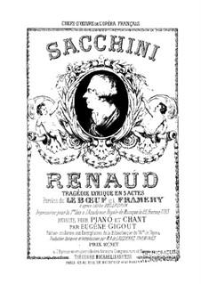 Renaud: Renaud by Antonio Sacchini