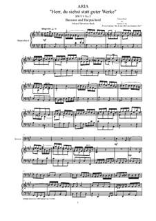 20 Arias from Cantatas for Bassoon and Harpsichord: Aria (Herr, du siehst statt guter Werke), BWV 9 No.5 by Johann Sebastian Bach