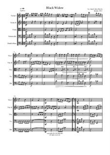 Black Widow (String Orchestra): Black Widow (String Orchestra) by Juan Davila
