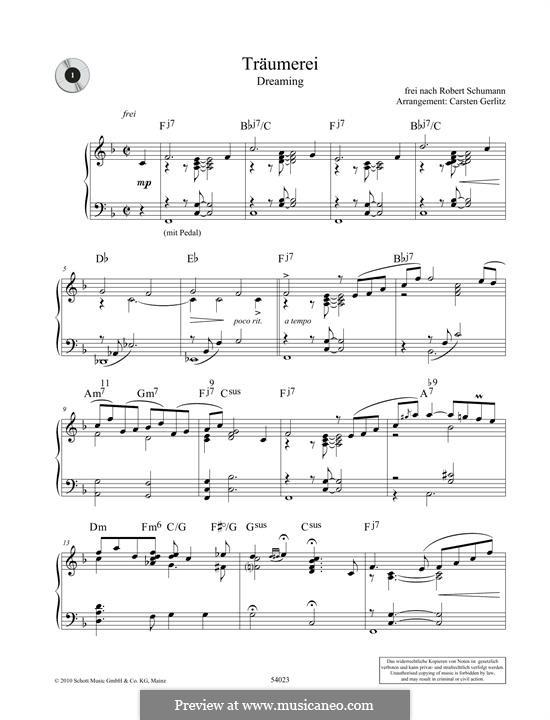 No.7 Träumerei (Dreaming): Para Piano by Robert Schumann