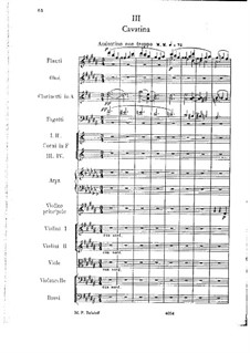 Concert Suite for Violin and Orchestra, Op.25: movimento III by César Cui