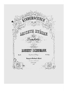 Complete set: For piano by Robert Schumann