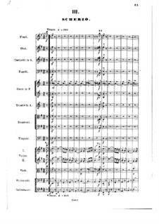 Symphony No.1 in E Minor, Op.1: movimento III by Nikolai Rimsky-Korsakov
